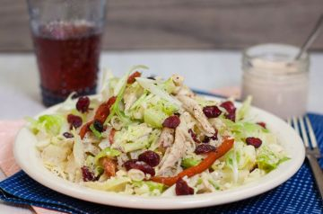 "Alabama ""Red n' White"" BBQ Chicken Salad-20 servings"