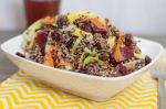 Quinoa and Shaved Vegetable Salad